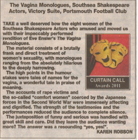 The Vagina Monologues Review